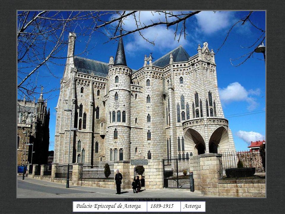 Palacio Episcopal de Astorga 1889-1915 Astorga