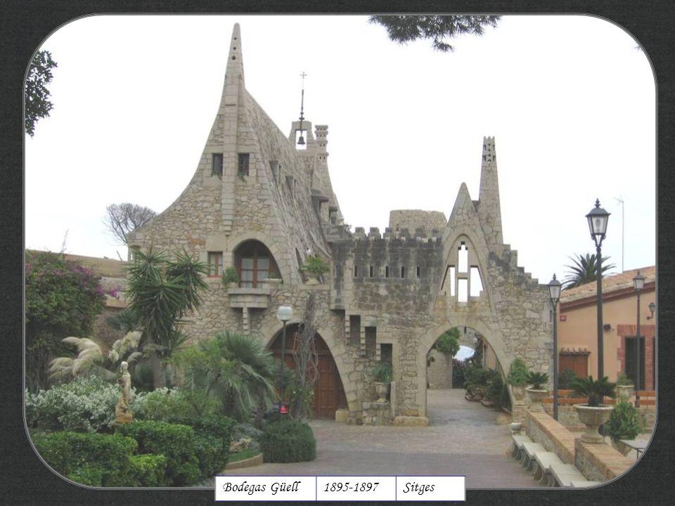 http://xistes.es Bodegas Güell 1895-1897 Sitges
