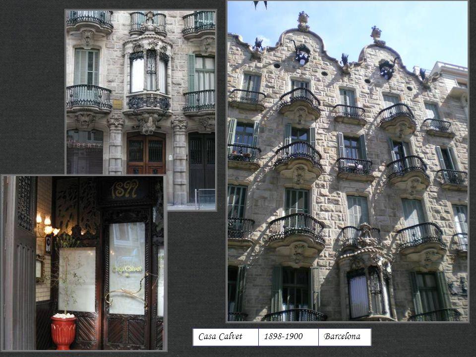 http://xistes.es Casa Calvet 1898-1900 Barcelona