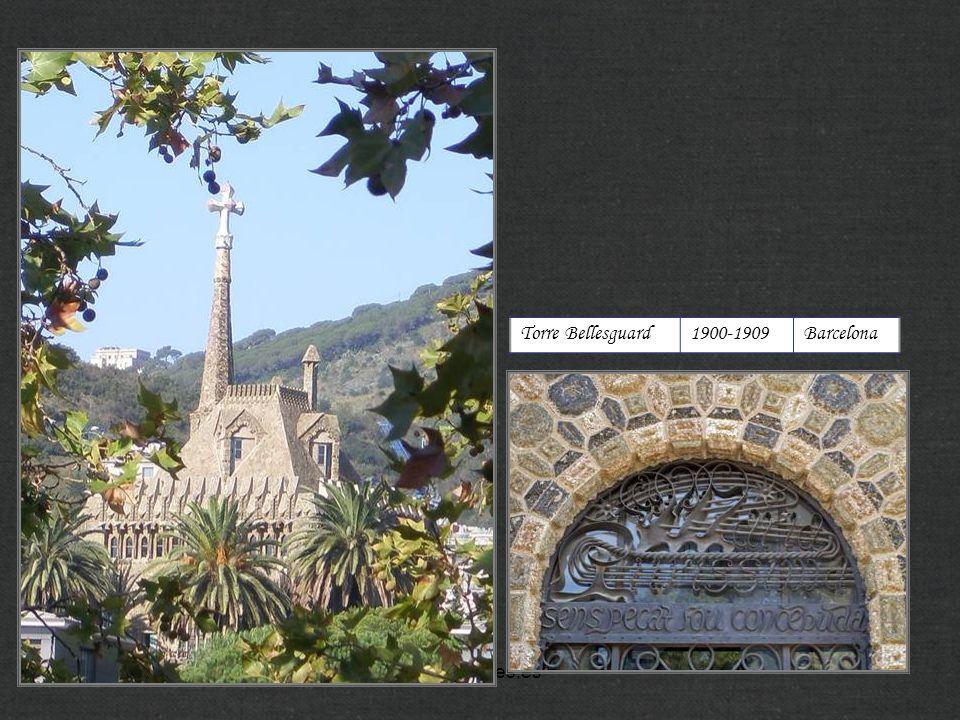 Torre Bellesguard 1900-1909 Barcelona http://xistes.es