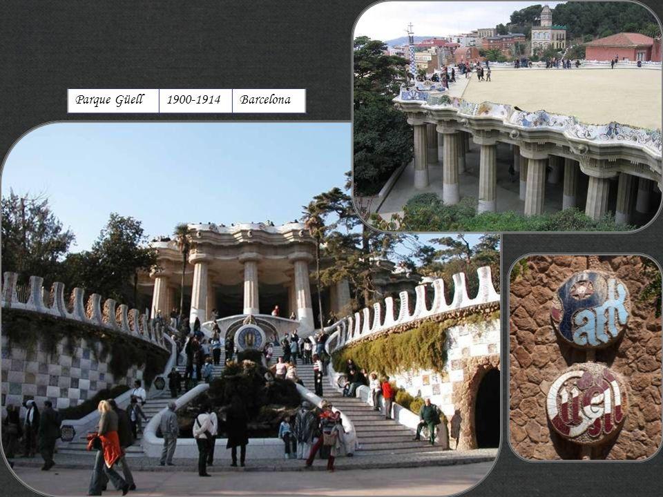 Parque Güell 1900-1914 Barcelona http://xistes.es