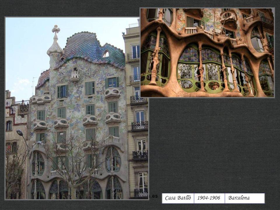 http://xistes.es Casa Batlló 1904-1906 Barcelona
