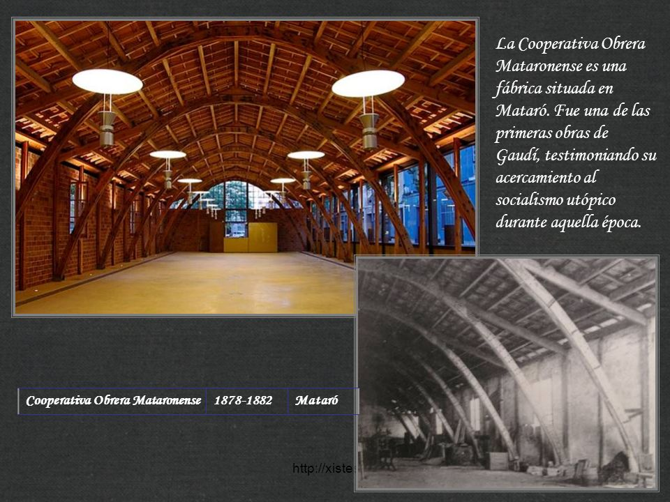 La Cooperativa Obrera Mataronense es una fábrica situada en Mataró