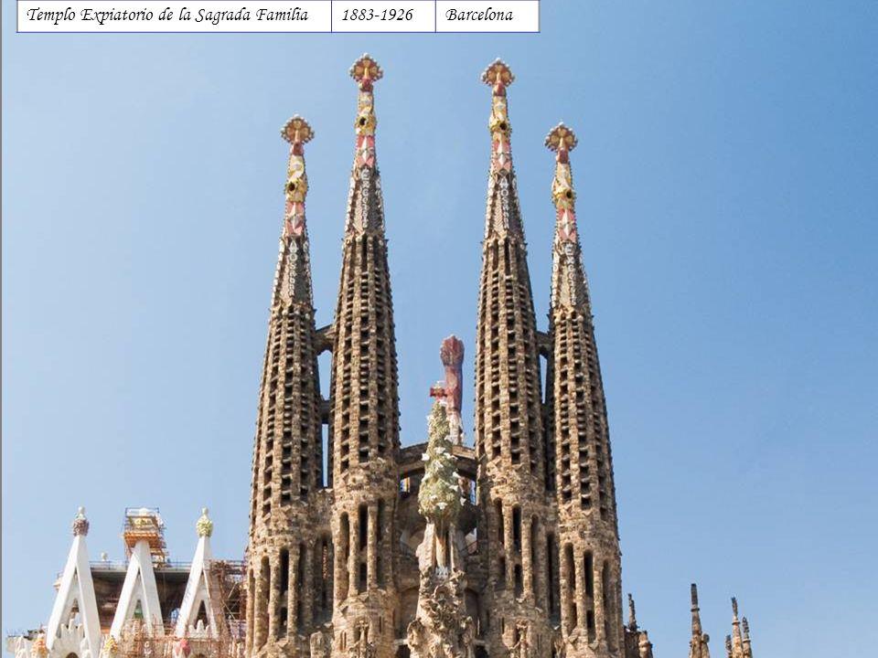 Templo Expiatorio de la Sagrada Familia 1883-1926 Barcelona