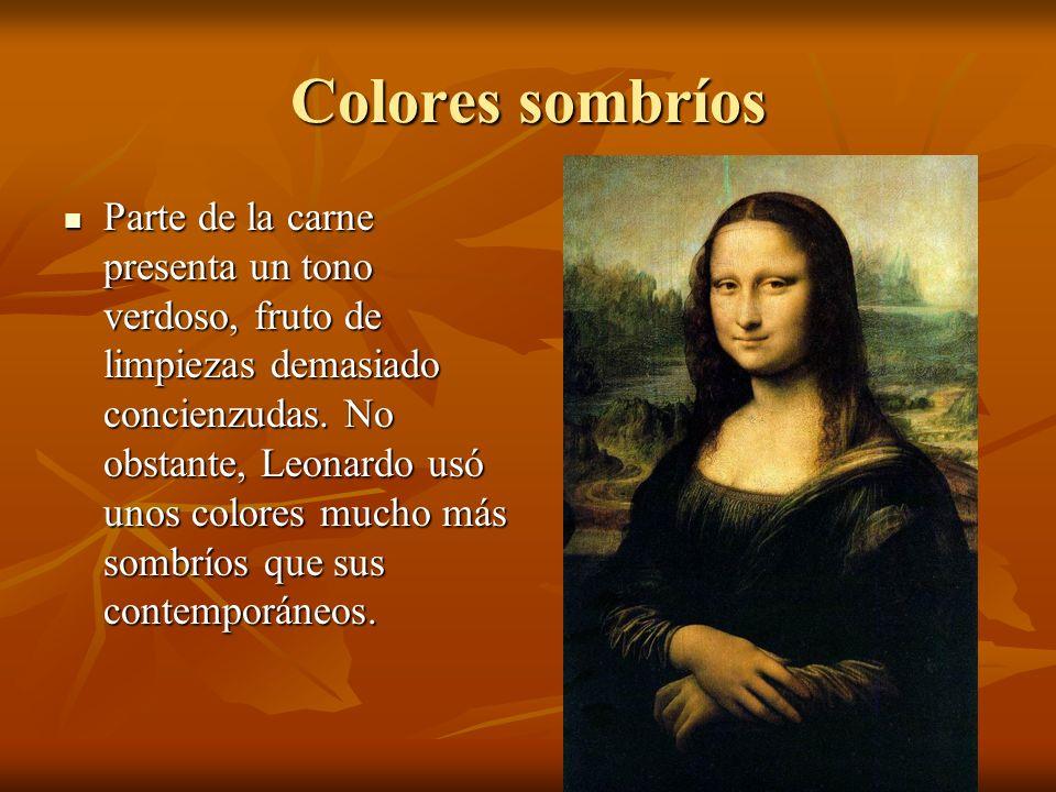 Colores sombríos
