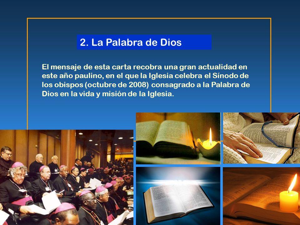 2. La Palabra de Dios