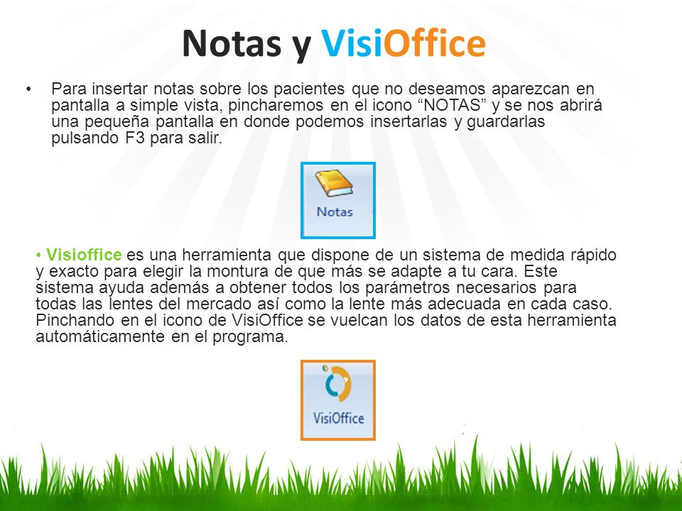 Notas y VisiOffice