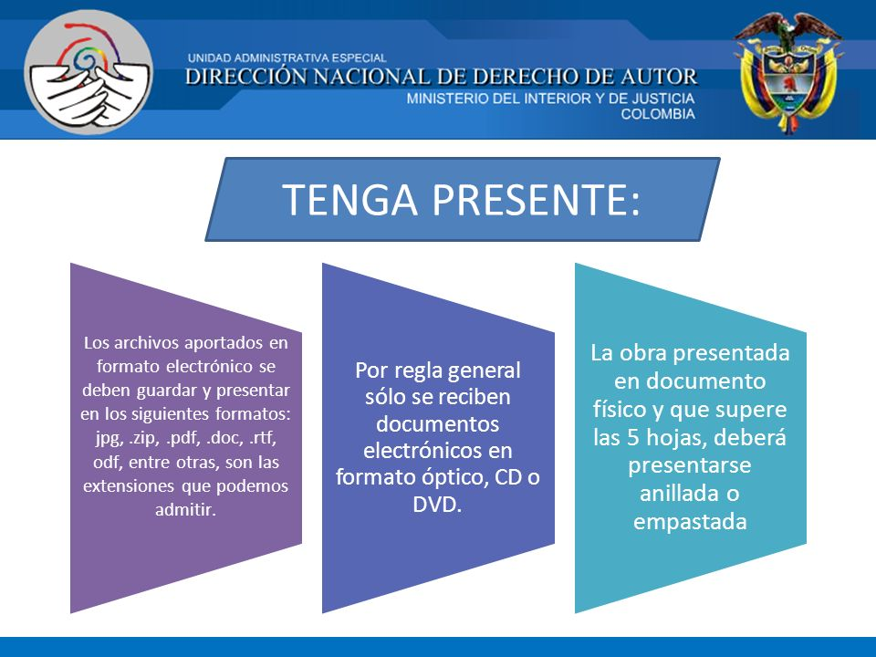 TENGA PRESENTE: