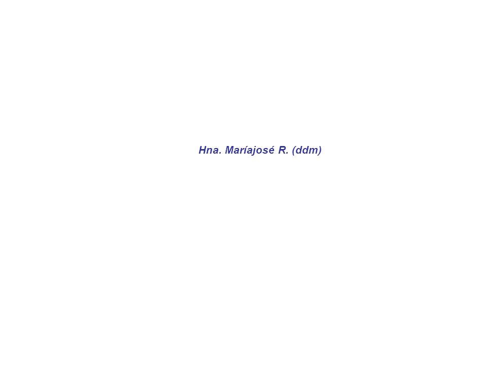 Hna. Maríajosé R. (ddm)