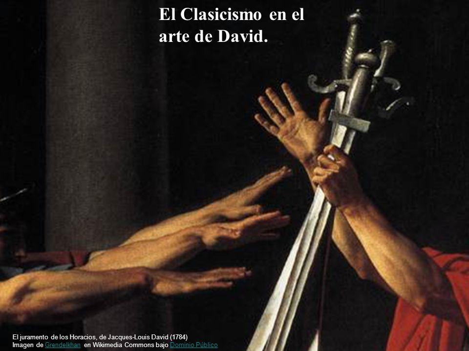 El Clasicismo en el arte de David.