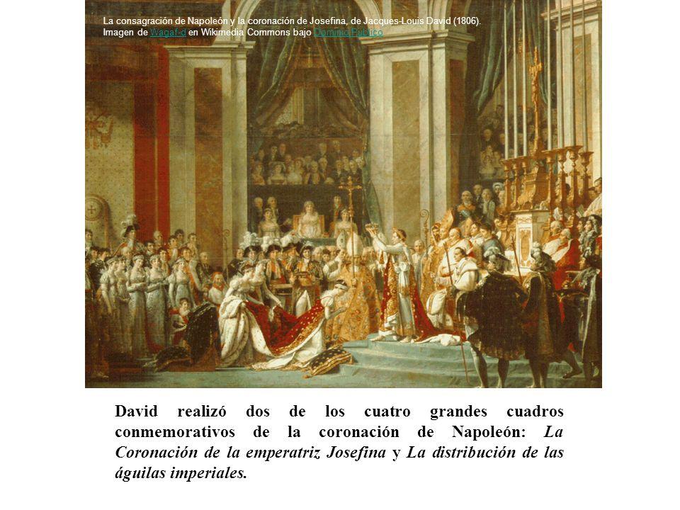 La consagración de Napoleón y la coronación de Josefina, de Jacques-Louis David (1806).