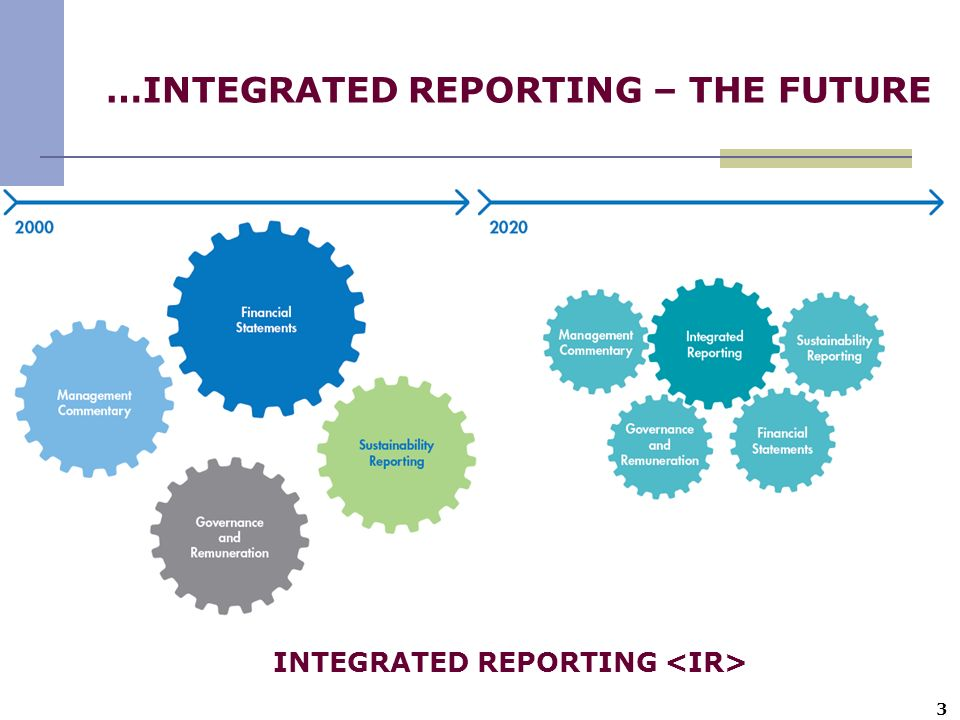 …INTEGRATED REPORTING – THE FUTURE
