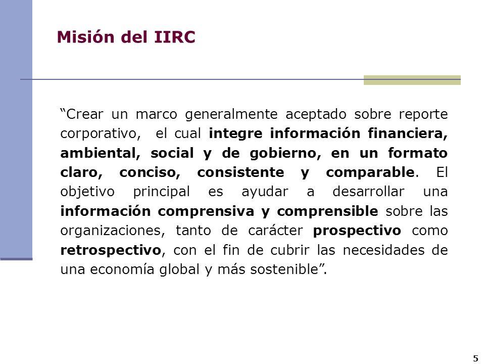 Misión del IIRC