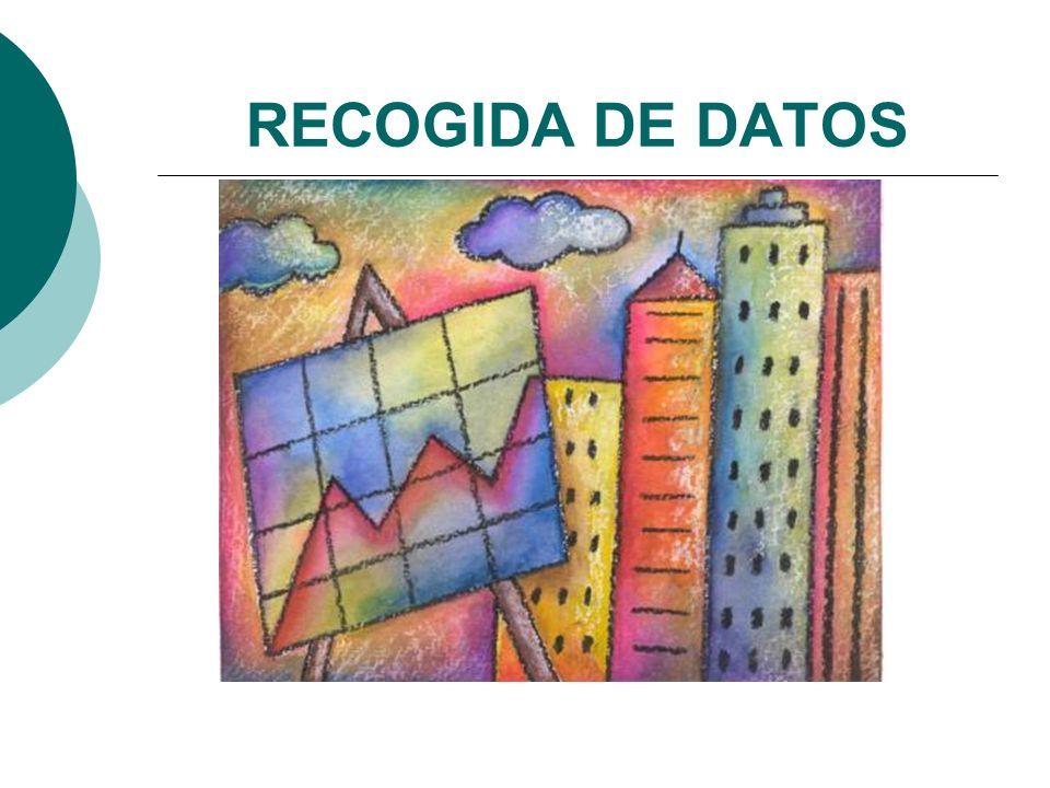 RECOGIDA DE DATOS