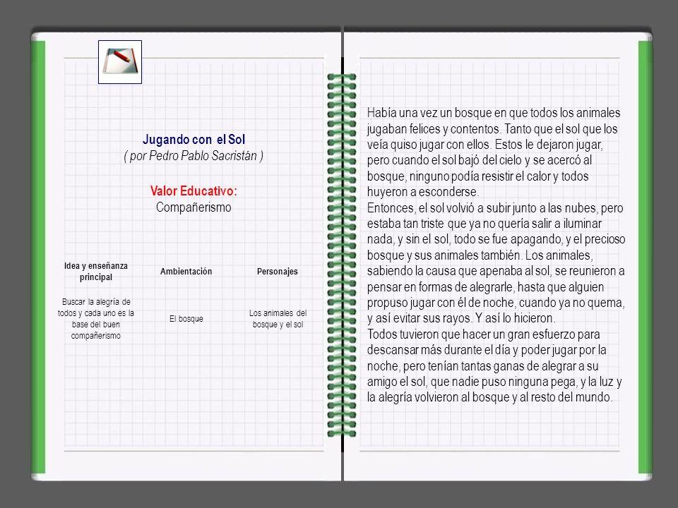 Idea y enseñanza principal