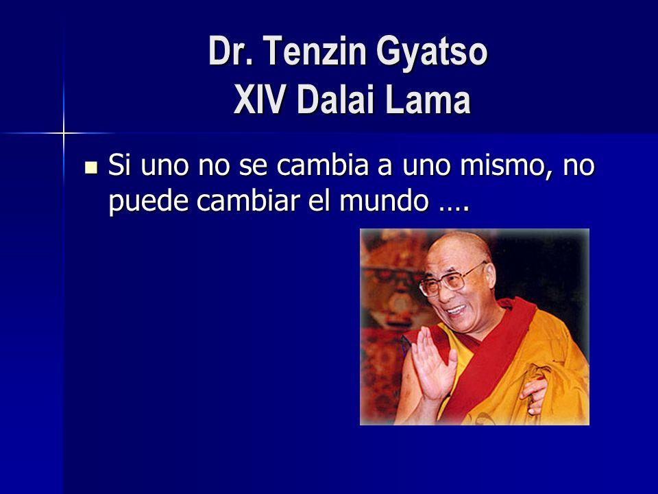 Dr. Tenzin Gyatso XIV Dalai Lama