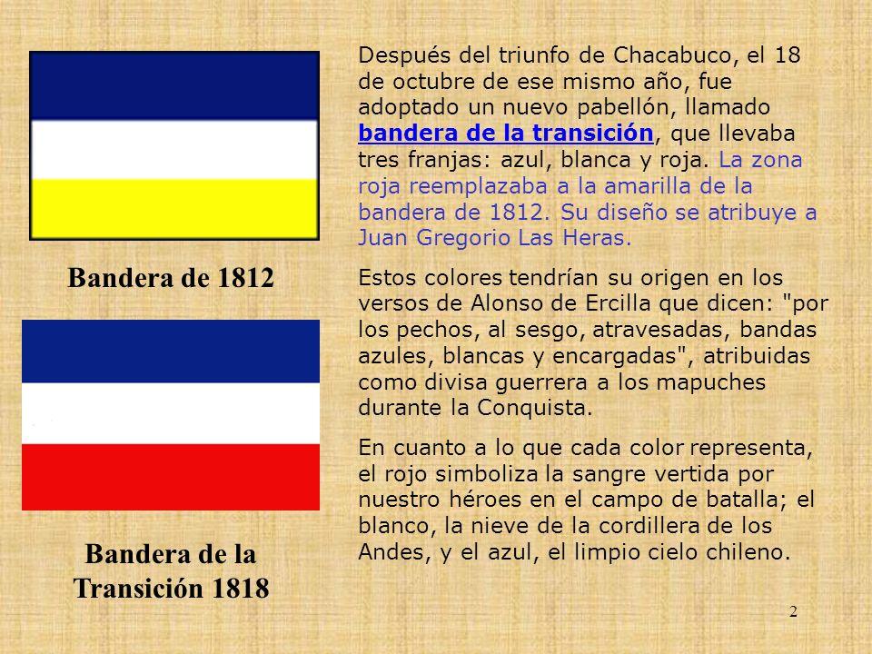 Bandera de la Transición 1818
