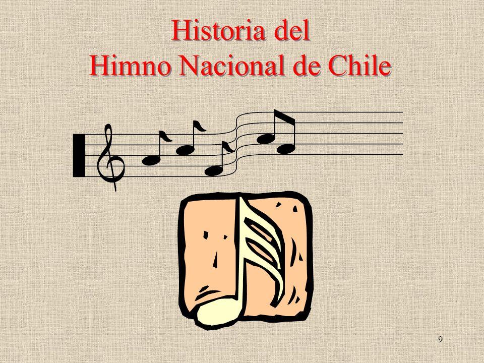 Historia del Himno Nacional de Chile