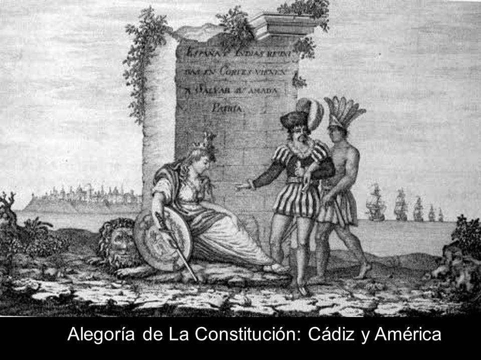 Alegoría de La Constitución: Cádiz y América