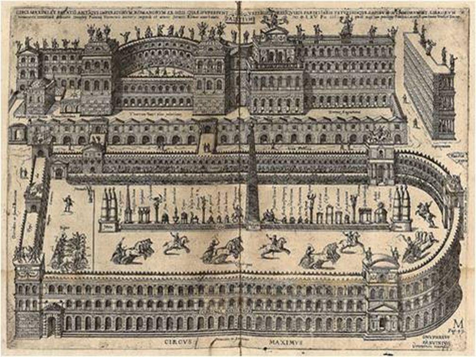 Circo construido por el emperador Calígula (terminado por Nerón)