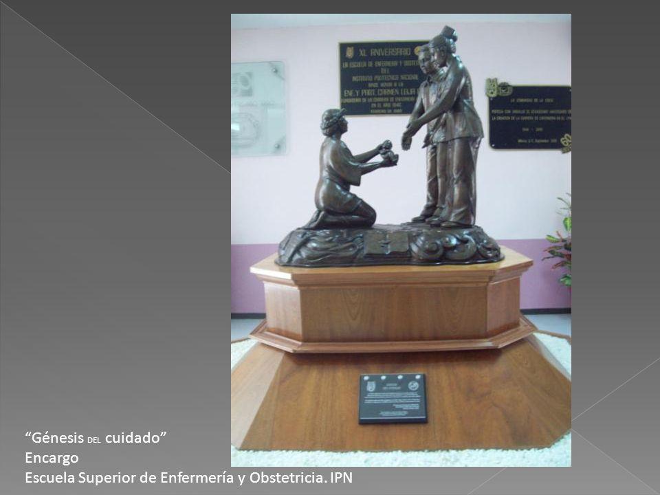 Génesis DEL cuidado Encargo Escuela Superior de Enfermería y Obstetricia. IPN