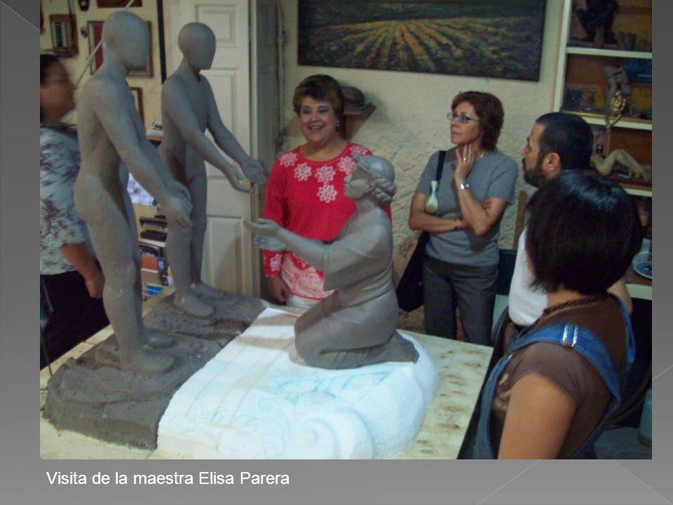 Visita de la maestra Elisa Parera