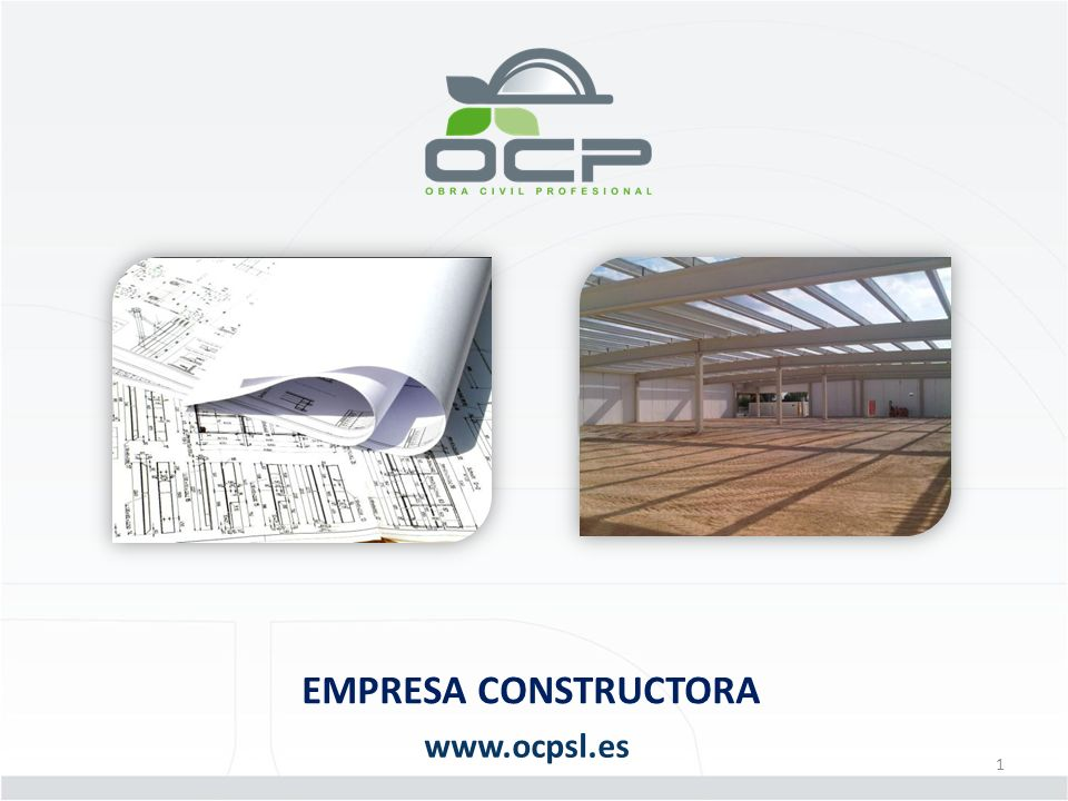 EMPRESA CONSTRUCTORA www.ocpsl.es