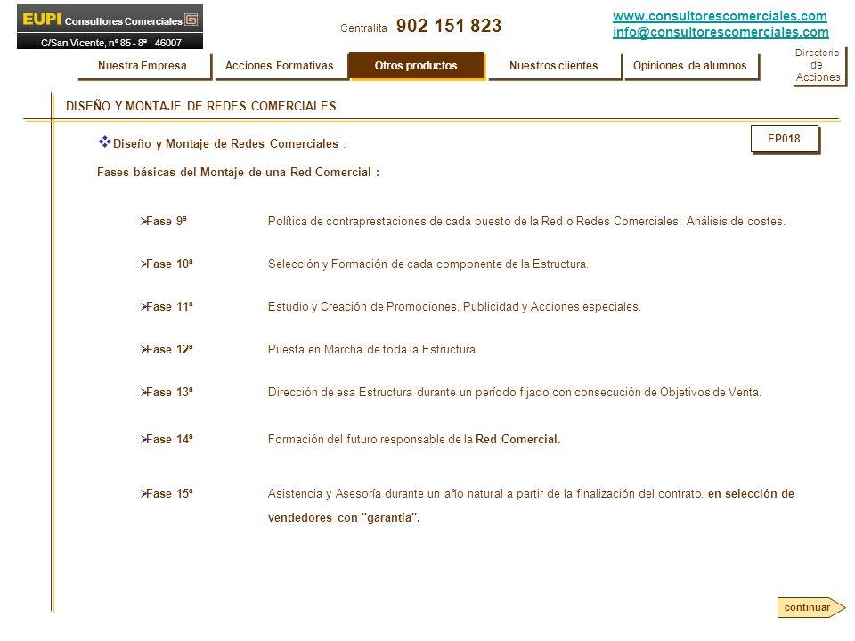 DISEÑO Y MONTAJE DE REDES COMERCIALES