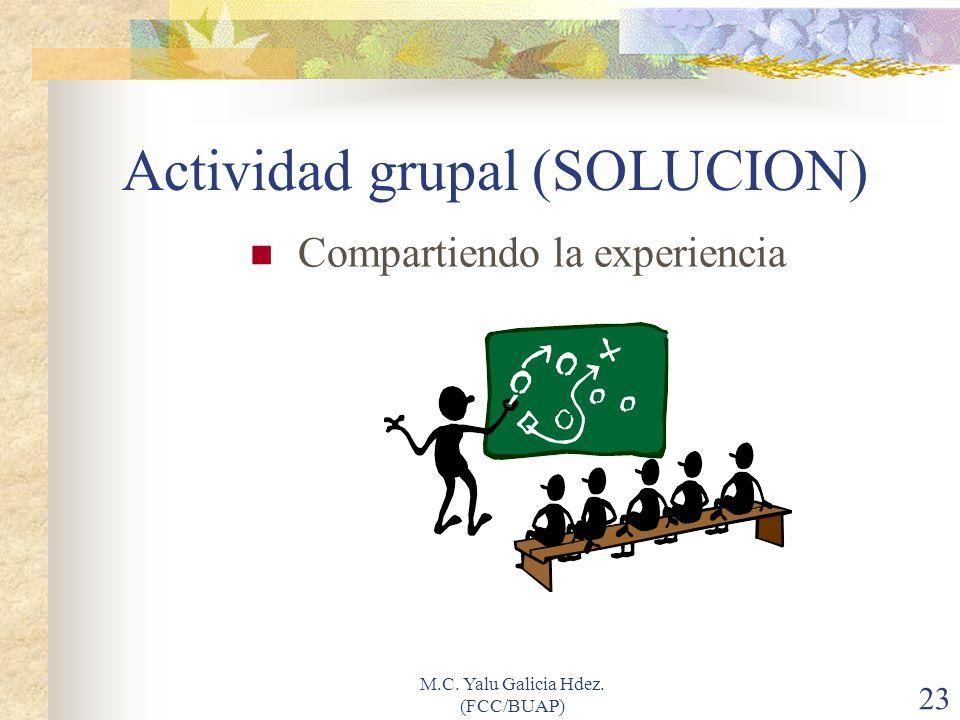 Actividad grupal (SOLUCION)