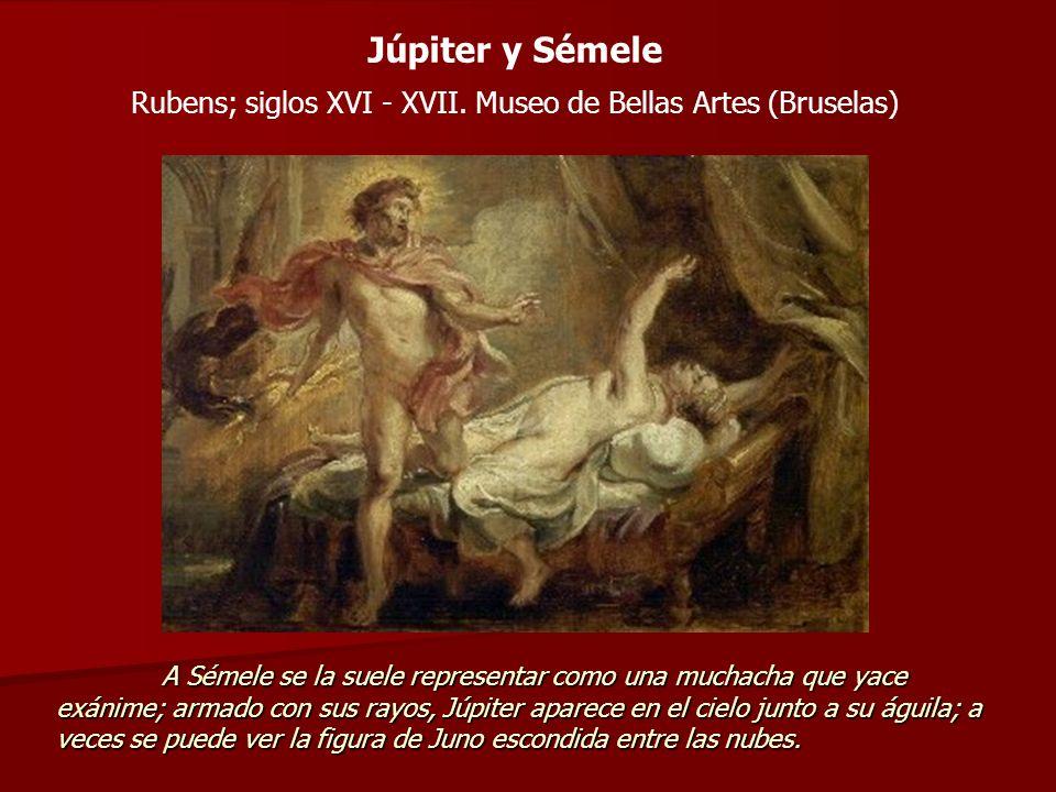 Rubens; siglos XVI - XVII. Museo de Bellas Artes (Bruselas)
