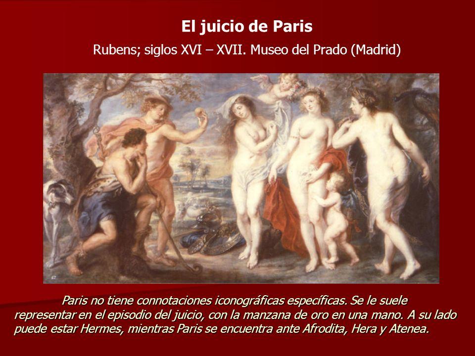Rubens; siglos XVI – XVII. Museo del Prado (Madrid)