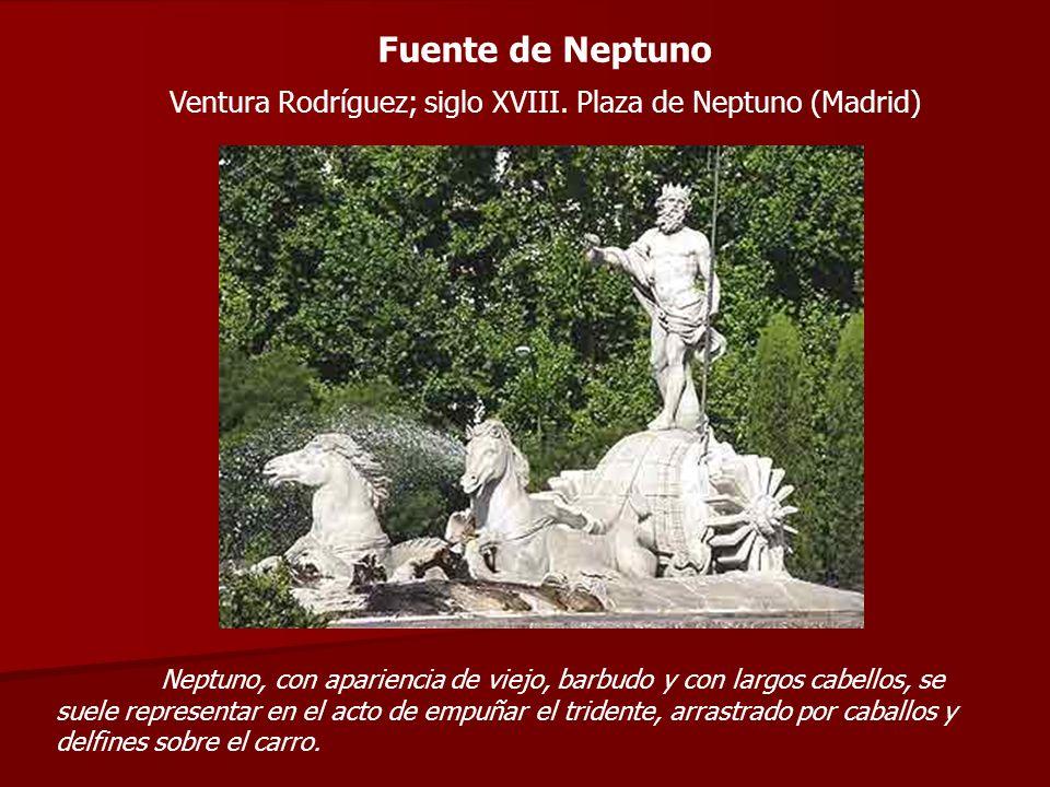 Ventura Rodríguez; siglo XVIII. Plaza de Neptuno (Madrid)