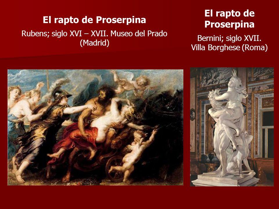 El rapto de Proserpina El rapto de Proserpina