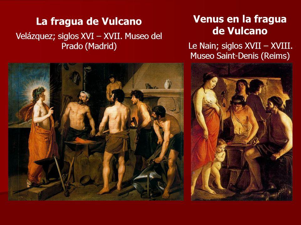 Venus en la fragua de Vulcano