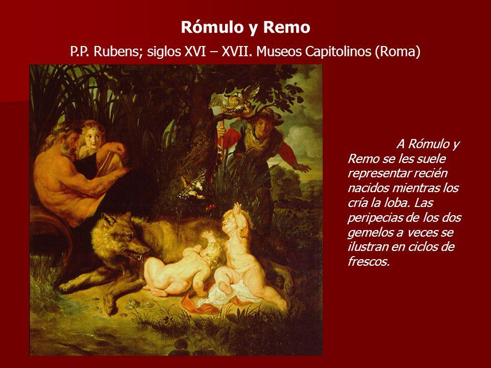 P.P. Rubens; siglos XVI – XVII. Museos Capitolinos (Roma)