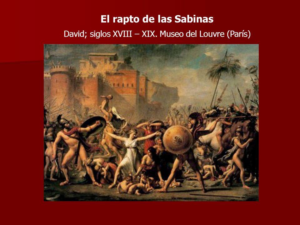 David; siglos XVIII – XIX. Museo del Louvre (París)