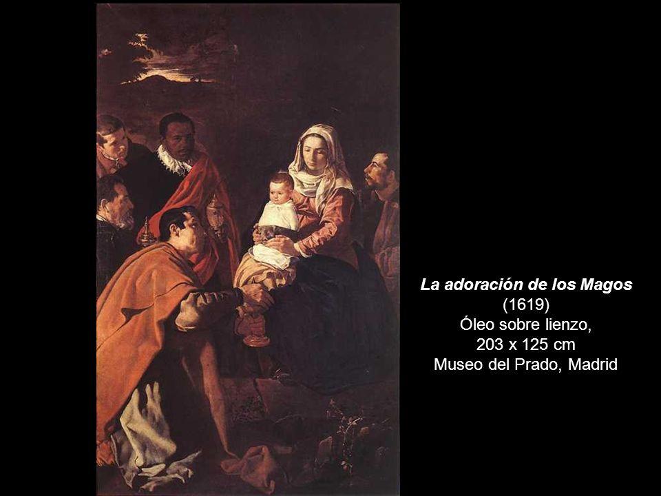 La adoración de los Magos (1619) Óleo sobre lienzo, 203 x 125 cm Museo del Prado, Madrid