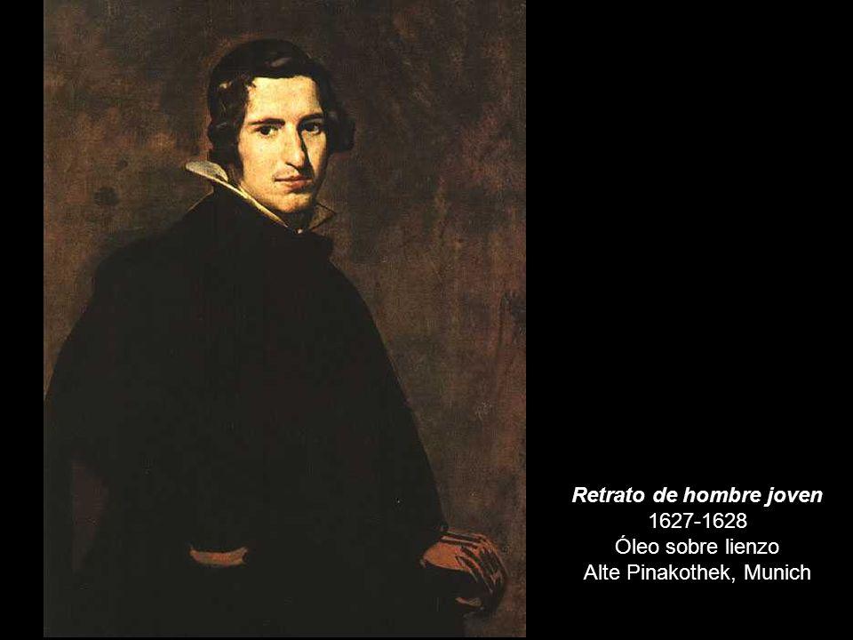 Retrato de hombre joven 1627-1628 Óleo sobre lienzo