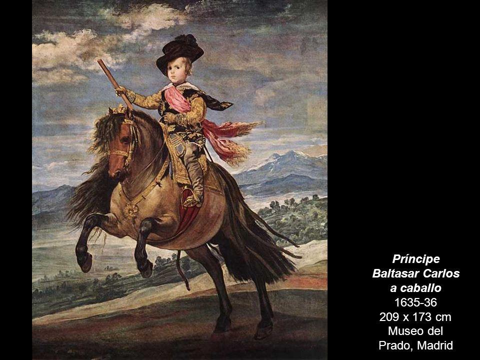 Príncipe Baltasar Carlos a caballo