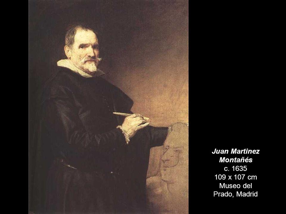 Juan Martinez Montañés c. 1635 109 x 107 cm Museo del Prado, Madrid