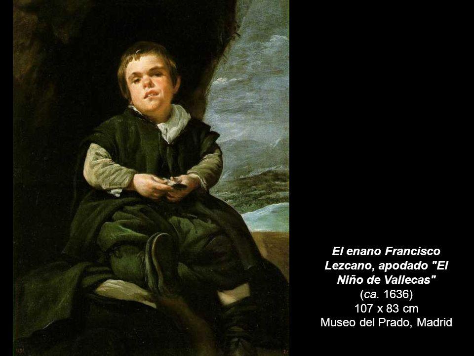 El enano Francisco Lezcano, apodado El Niño de Vallecas (ca. 1636)