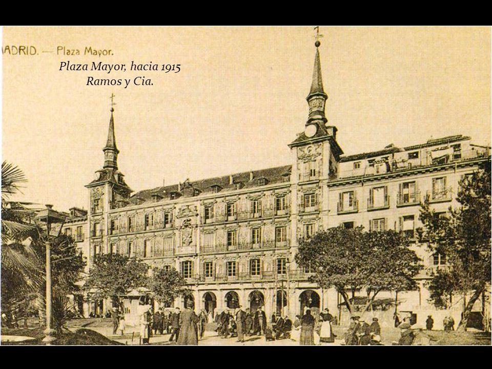 Plaza Mayor, hacia 1915 Ramos y Cia.