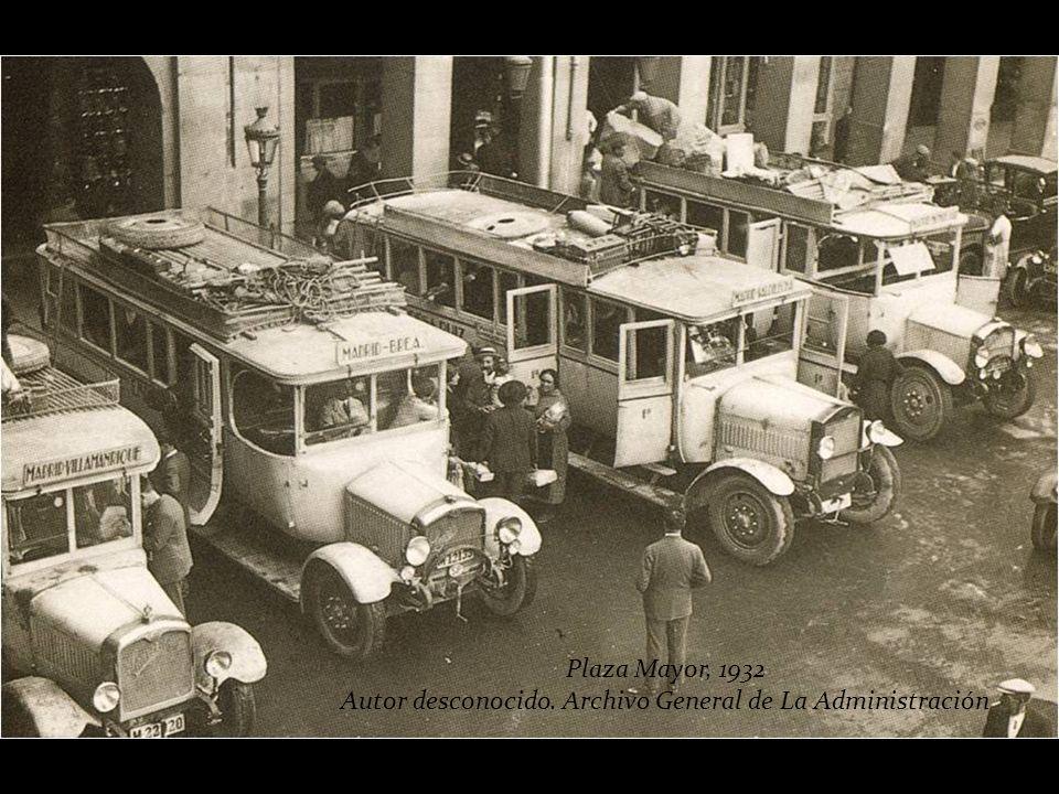 Autor desconocido. Archivo General de La Administración