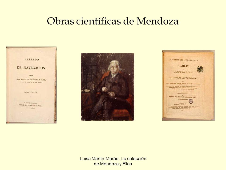 Obras científicas de Mendoza