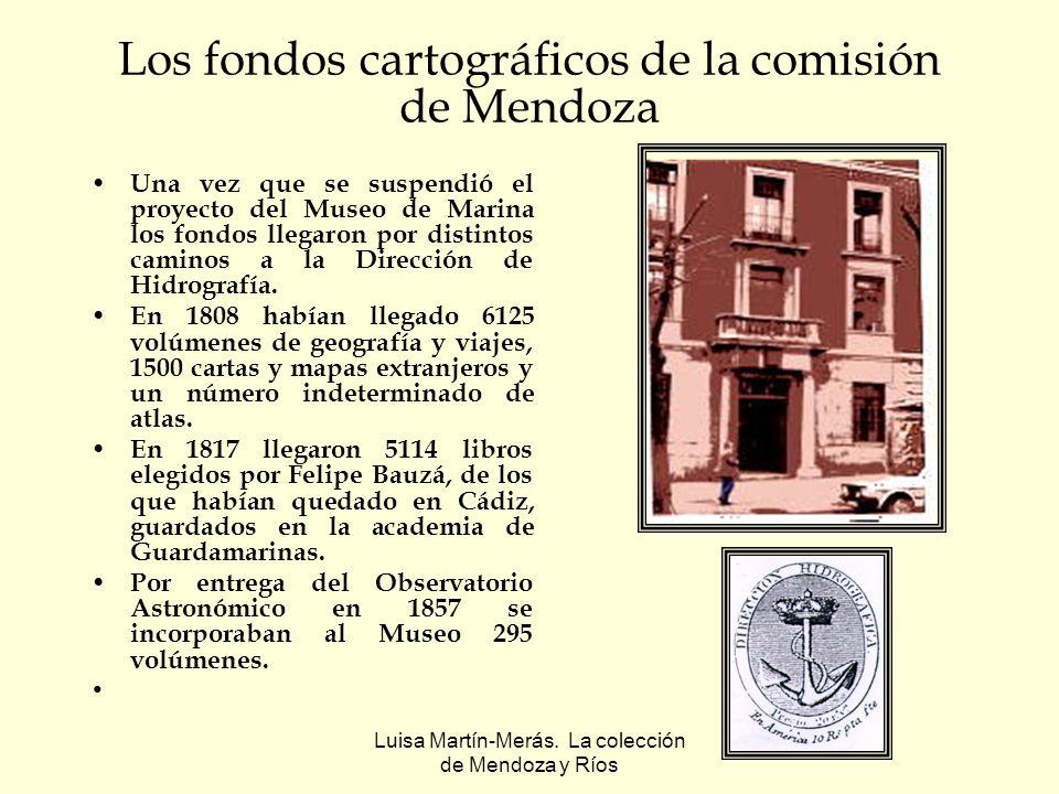 Los fondos cartográficos de la comisión de Mendoza