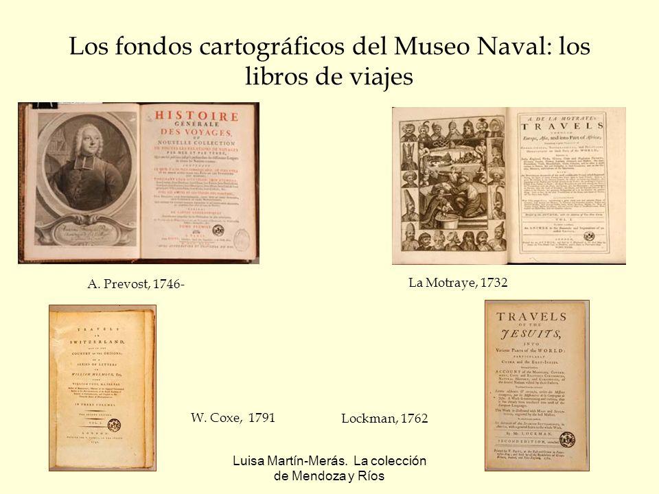 Los fondos cartográficos del Museo Naval: los libros de viajes