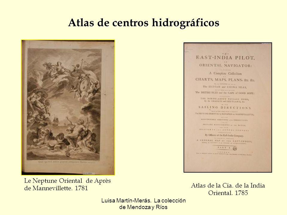 Atlas de centros hidrográficos