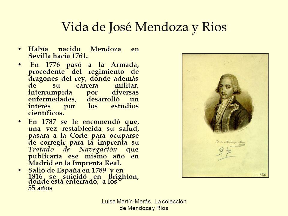 Vida de José Mendoza y Rios
