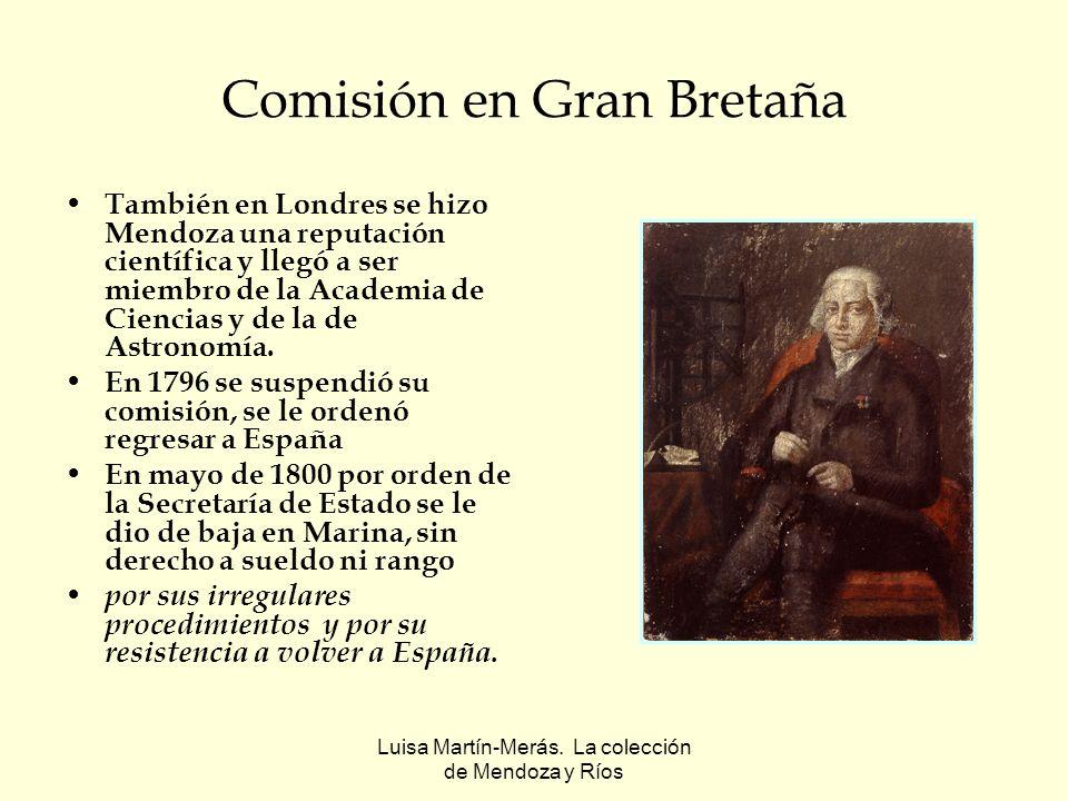 Comisión en Gran Bretaña