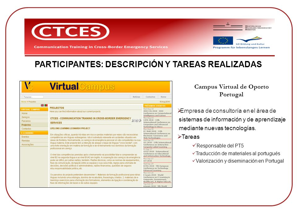 Campus Virtual de Oporto